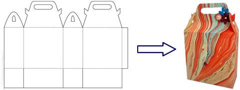 Коробочки своими руками схемы размеры из картона фото 717